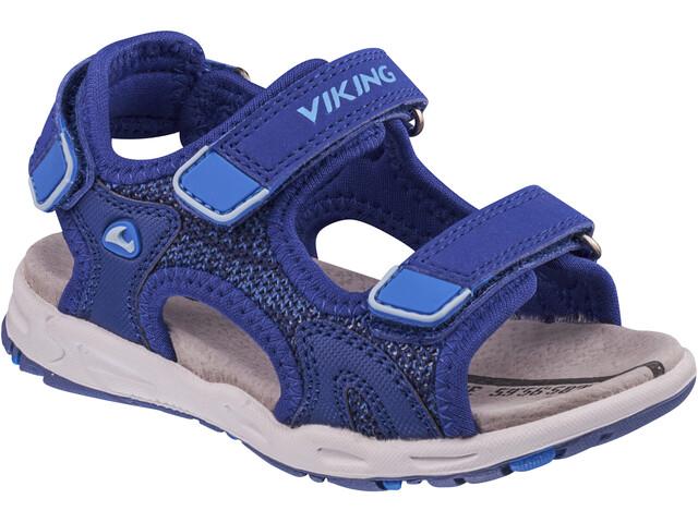 Viking Footwear Anchor II Sandalias Niños, dark blue/blue